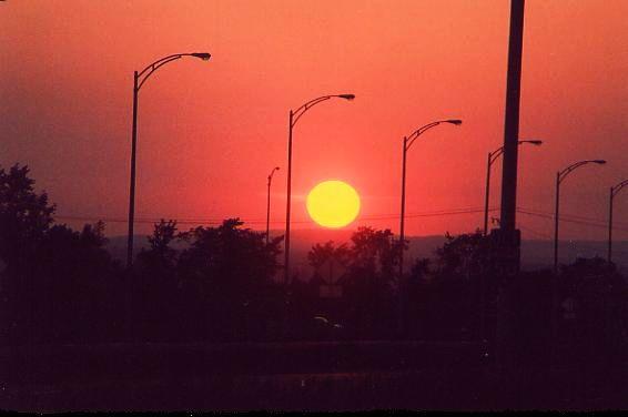 E-90 #15 couché du soleil 24 juin 2005