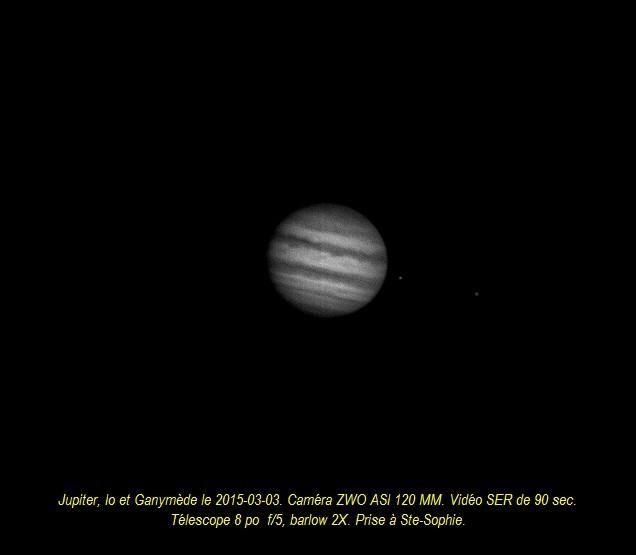 Jupiter le 2015-03-03